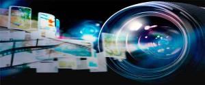 Cartel alegórico al uso de la tecnología