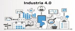 Cartel alegórico a la Industria 4.0