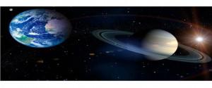 Saturno formará junto a la Tierra y el Sol una línea casi recta