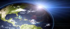 Imagen alegórica a la capa de ozono