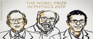 Ganadores del Premio Nobel de Física por sus hallazgos en la cosmología y el descubrimiento de un exoplaneta