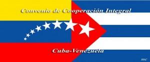 Banderas de Venezuela y Cuba