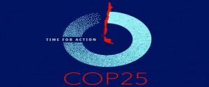 Cartel alegórico a la Cumbre de las Naciones Unidas sobre Cambio Climático (COP25)