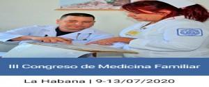 Cartel alegórico al III Congreso de Medicina Familiar