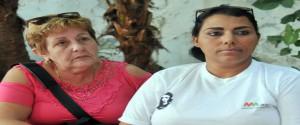 A través de los trabajos en exposición, los invitados conocerán sobre el quehacer en cada una de nuestras áreas, explicaron a la prensa, Deisy Olivera, Subdirectora de la ERMA (a la izquierda) y Anaelys Peñate