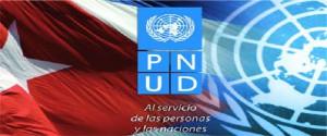 Cartel alegórico al Programa de las Naciones Unidas para el Desarrollo (PNUD)