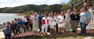 Trabajadores del Centro de Estudios Ambientales de Cienfuegos