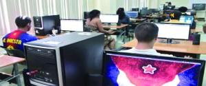 El desarrollo de Cuba pasa, inevitablemente, por el impulso a la informatización de la sociedad. Foto: Yaimí Ravelo