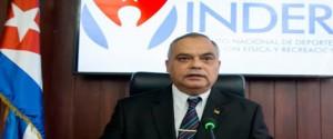 Osvaldo Vento Montiller, presidente del Instituto Nacional de Deportes, Educación Física y Recreación (Inder)