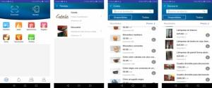 Aplicación de comercio electrónico, EnZona