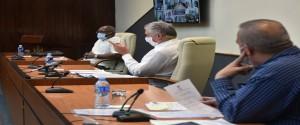 Reunión del grupo de trabajo para la prevención y control de la Covid-19
