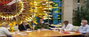Mesa Redonda para informar sobre la situación de la provincia y el enfrentamiento a esta enfermedad