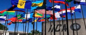 Banderas de varios paises