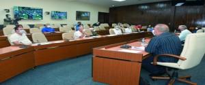 Reunión del grupo temporal de trabajo del Gobierno para el control de la epidemia