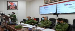 Reunión del Consejo de Defensa Provincial (CDP) de La Habana