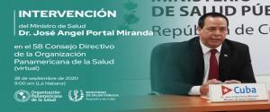 La alocución se transmitirá en directo por los canales de facebook y youtube del ministerio cubano de Salud Pública. (Foto: PL)