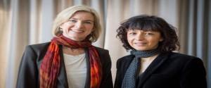 Las científicas Emmanuelle Charpientier y Jennifer Doudna Foto: Reuters