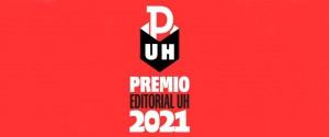 Cartel alegórico a los Premios Editorial UH 2021
