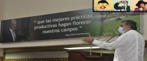 El Representante de la FAO en Cuba, Marcelo Resende, resaltó la disposición de la FAO para apoyar a Cuba, con asistencia técnica, en la construcción de su modelo para la gestión del sistema agropecuario y forestal. Foto: Abel Rojas Barallobre/FAO