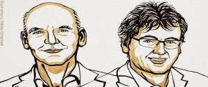 Benjamin List y David W.C. MacMillan. Foto: Twitter @NobelPrize