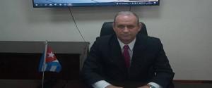 Livan Arronte Cruz, ministro de Energía y Minas