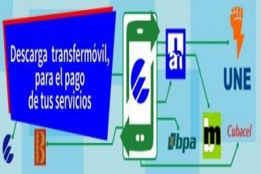 Cartel alegórico a la APK Transfermóvil