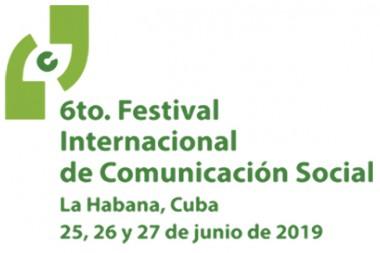 Logo del VI Festival Internacional de la Comunicación Social