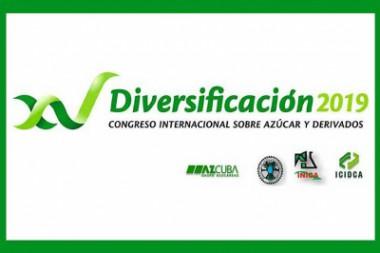 Logo del XV Congreso Internacional sobre Azúcar y Derivados (Diversificación 2019)