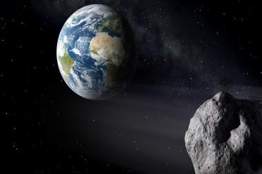 Se acercará a la Tierra un gran asteroide