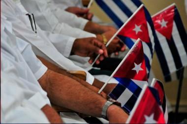 Ayuda solidaria de médicos cubanos a Bahamas tras el paso del huracán Dorian
