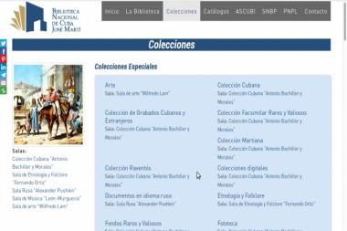 Se posiciona Biblioteca Nacional de Cuba en el escenario virtual