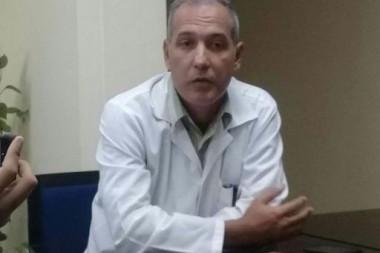 Doctor Julio López Argüelles, jefe del servicio de Neuro-Rehabilitación