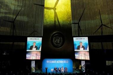 Imagen alegórica a la Cumbre sobre Acción Climática de la ONU