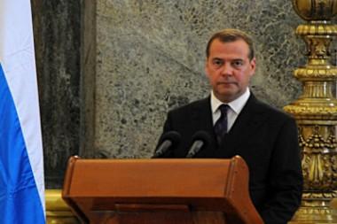 Dimitri Medvedev, primer ministro de Rusia