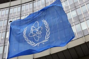 Bandera del Organismo Internacional de Energía Atómica (OIEA)