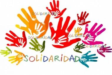 Cartel alegórico a la solidaridad