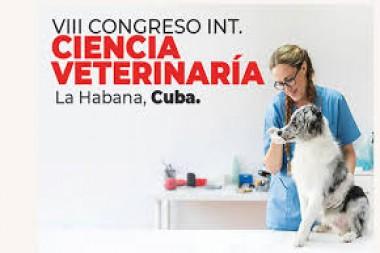 Cartel alegórico al VIII Congreso Internacional de Ciencias Veterinarias