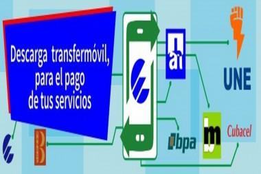Cartel alegórico a Transfermóvil