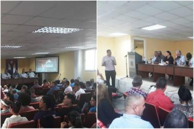 Presidente cubano pondera quehacer de la Universidad de Artemisa