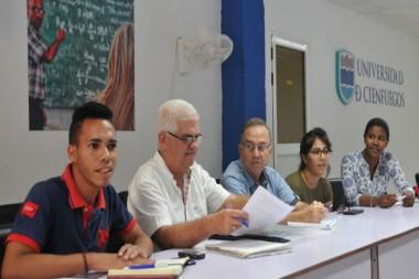 Académicos de Cienfuegos con mucho que exponer en Universidad 2020