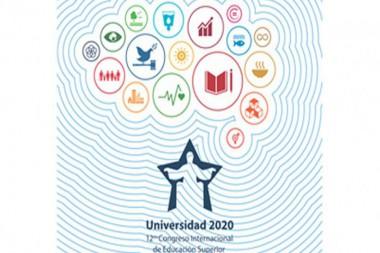 Cartel alegórico a XII Congreso Internacional Universidad 2020