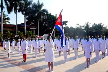 Brigada de enfermeras cubanas a Barbados