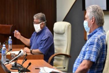 Presidente de la República, Miguel Díaz-Canel Bermúdez, encabeza una reunión donde se analizó la dinámica demográfica de Cuba