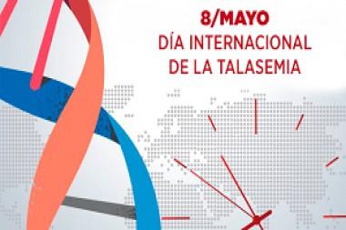 Cartel alegórico al 8 de mayo, Día Internacional de la Talasemia