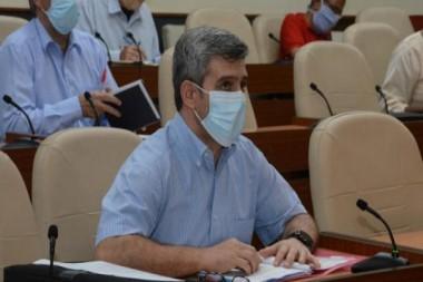 Reunión de chequeo dirigida por el Presidente de la República, Miguel Díaz-Canel Bermúdez