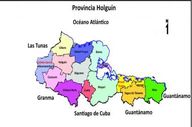 Mapa de Holguín