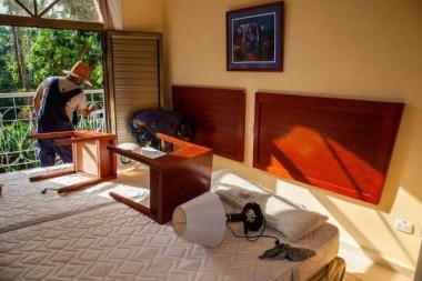 Durante estos meses se ha desarrollado una intensa actividad de mantenimiento y mejoramiento en los hoteles y entidades extrahoteleras. Foto: ACN
