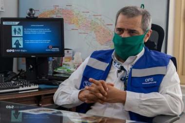 José Moya, representante de la Organización Panamericana y Mundial de la Salud (OPS/OMS) en Cuba