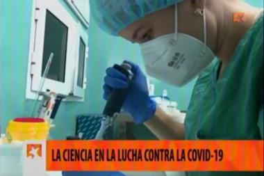 Científica cubana