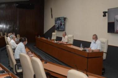 Reunión del Grupo Temporal de Trabajo para la prevención y control del coronavirus SARS-Cov-2